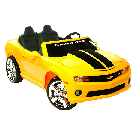 12V Chevrolet Camaro Ride-On
