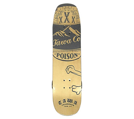 "Tawa Night Owl 32"" Double Kicktail Skateboard"