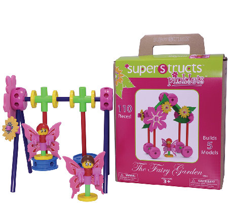 Superstructs Pinklets Fairy Garden