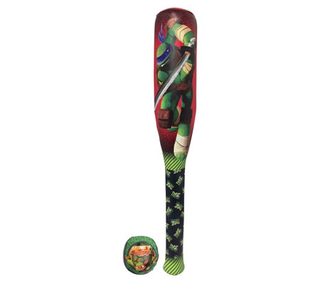 Teenage Mutant Ninja Turtles Soft Bat And Ballset
