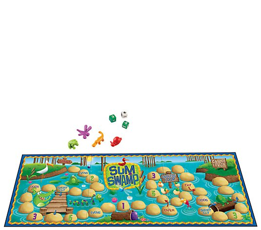 Sum Swamp Addition & Subtraction Game  by Learning Resources