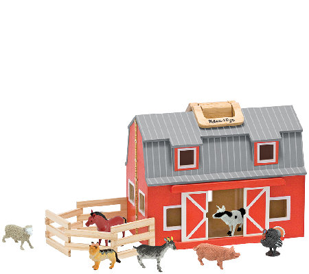 Melissa Doug Fold And Go Barn