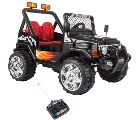 Lil' Rider Battery-Operated All-Terrain Vehiclewith Remote