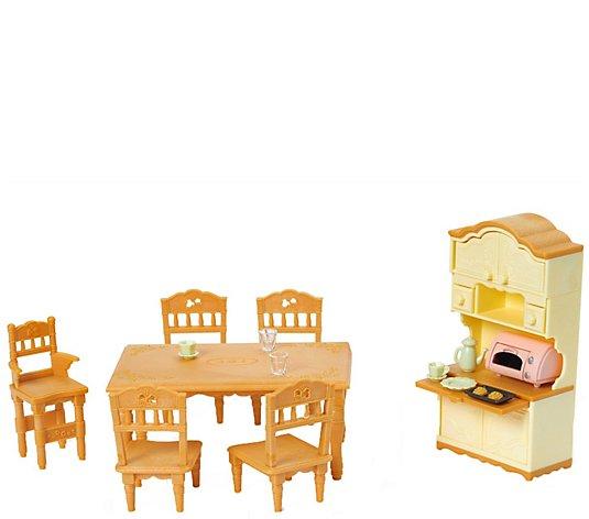 Calico Critters Dining Room Set Qvc Com