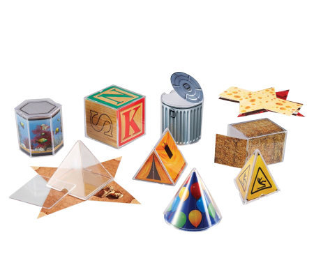 Real World Folding Geometric Shapes by LearningResources