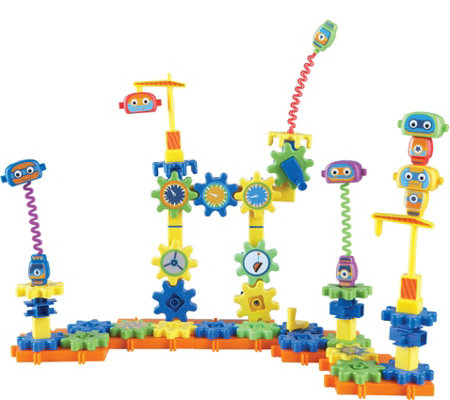 Learning Resources Gears Gears Gears! 80-PieceRobot Factory