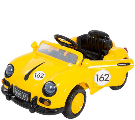 Lil' Rider '58 Yellow Speedy Sportster BatteryOp Car w/Remote