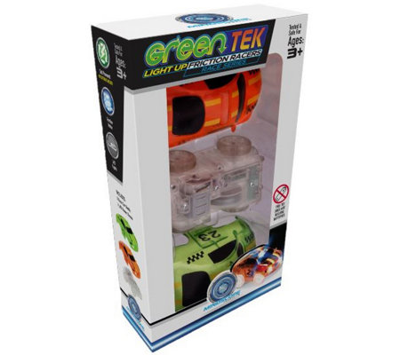 GreenTek S/2 Friction Vehicles with LED Lights