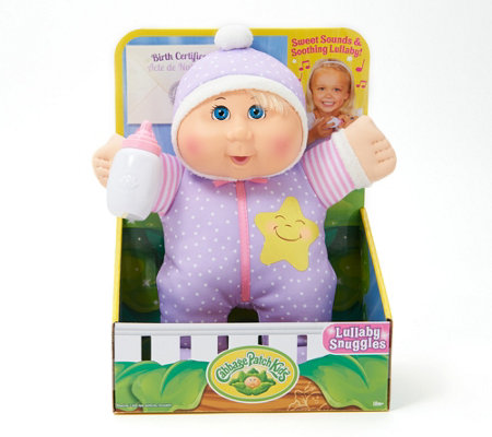 "Cabbage Patch Kids Lullaby Snuggles 11"" Baby Doll"