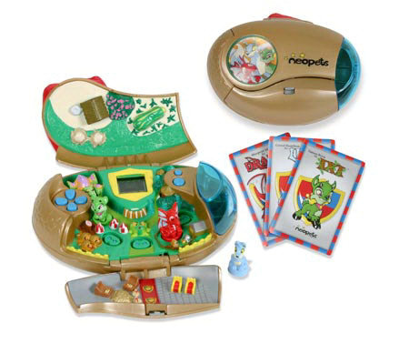 Neopets: Deluxe World Play Set - Meridell