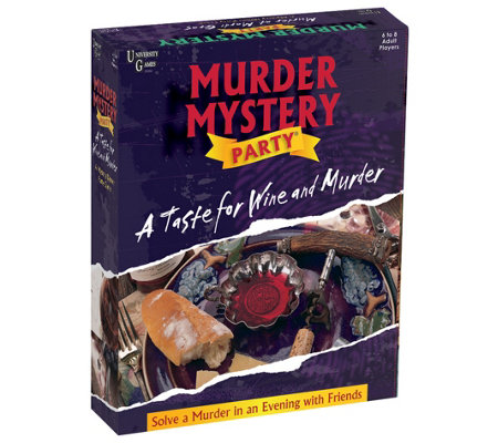 University Games Mystery Party - A Taste for Wine and Murder