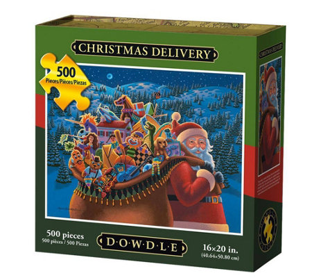 Dowdle Christmas Delivery 500 Piece Jigsaw Puzzle
