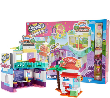 Shopkins Kinstructions Deluxe Food Court Set With 334 Pieces