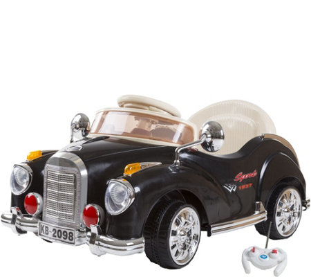 Lil' Rider Kids Battery Operated Classic Ride-On Car w/ Remot