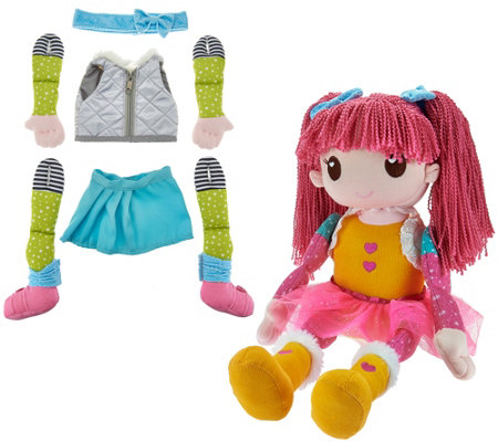 "Mixxie Mopsie Oversized 20"" Doll w/ 17 Pieces By: Adora"