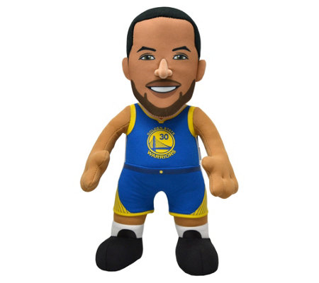 "Bleacher Creatures NBA Warriors Steph Curry 10""Plush Figure"