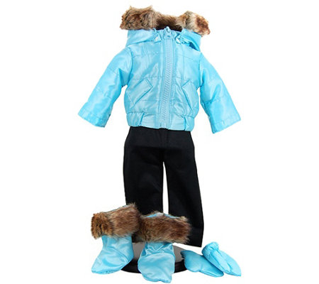 "The Queen's Treasures 18"" Doll Ski Time Complete Outfit"