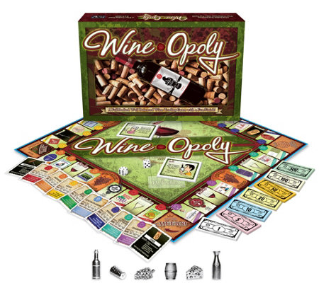 Late For The Sky Wine-opoly Family Game