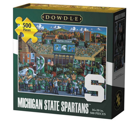 Dowdle Michigan State Spartans 500 Piece Jigsawpuzzle