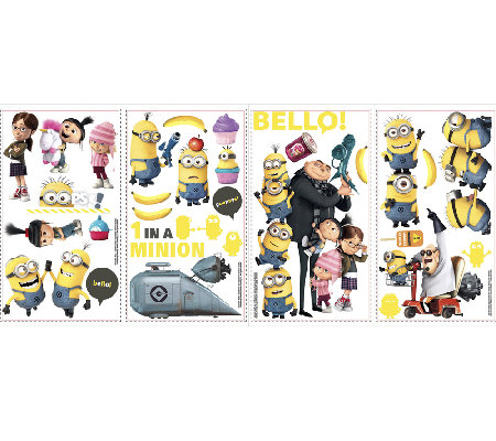 Disney's Despicable Me 2 Peel & Stick Wall Decals