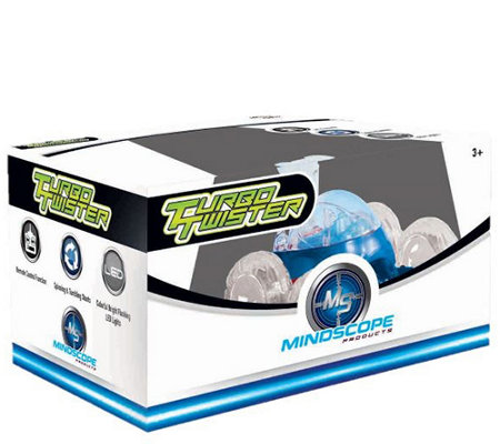 Turbo Twisters LED Remote Control Stunt Car