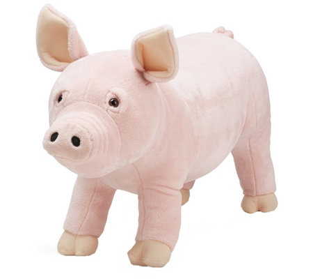 Melissa Doug Plush Pig