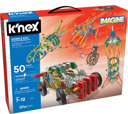 K'nex Imagine Power & Play 525pc Motorized Building Set