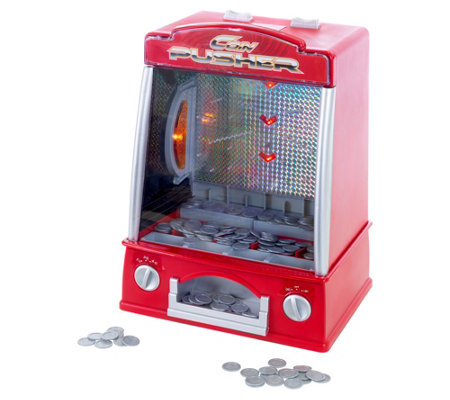 Hey! Play! Coin Pusher Miniature Classic ArcadeGame