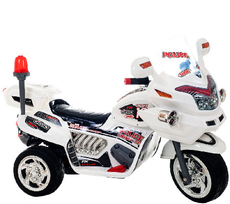 Lil' Rider Police Connection Bike Trike 6V Ride-On