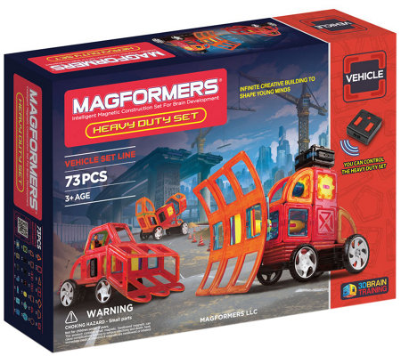 Magformers Heavy Duty 73-Piece Set