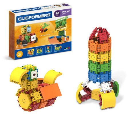 Clicformers 90 Piece Basic Set