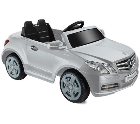 Mercedes Benz E550 One-Seater Silver 6V Ride-OnVehicle