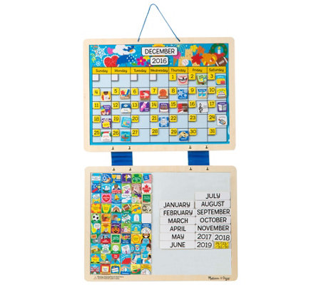 Melissa Doug Monthly Magnetic Calendar