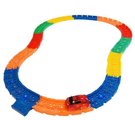 Twister Tracks 12' LED Light Up Track  with Car& Carry Bag