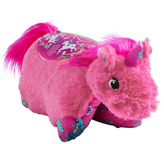 Pillow Pets Colorful Pink Unicorn Sleeptime Lites