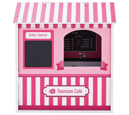 Teamson Kids Dreamland City Cafe Doll House