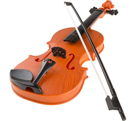 Hey Play Battery Operated Musical Toy Violinwith Bow