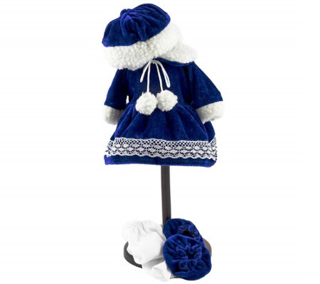 "The Queen's Treasures 15"" Bitty Doll Winter Wonderland Outfit"