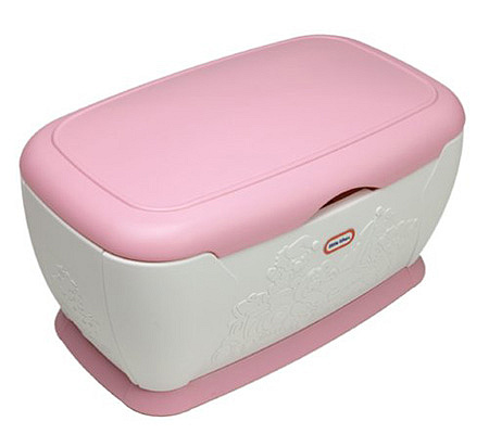 Little Tikes Giant Pink Toy Chest — QVC.com