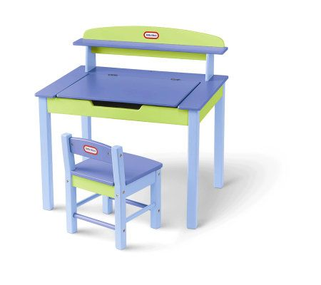 Little Tikes Wood Desk And Chair Qvc Com Rh Qvc Com Little Tikes Desk With  Lamp