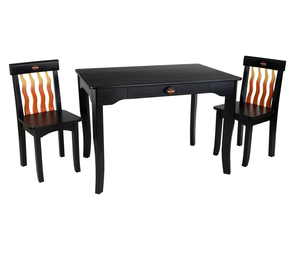 sc 1 st  QVC.com : harley davidson table and chair set - pezcame.com