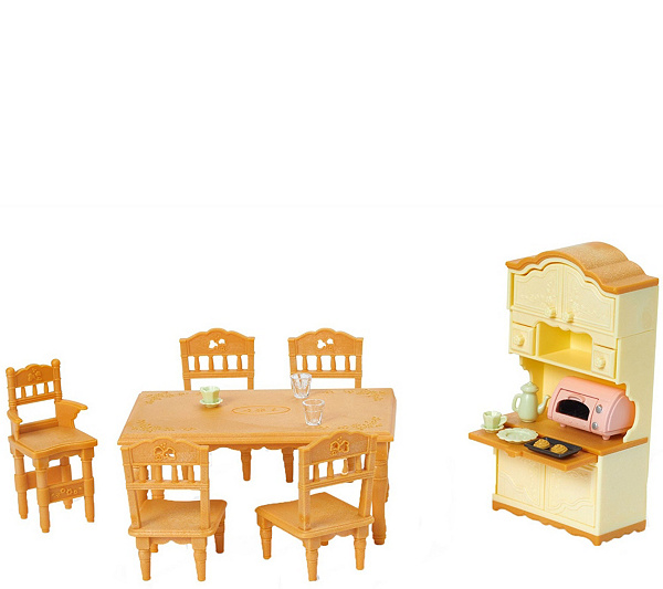 Calico Critters Dining Room Set Product Thumbnail In Stock