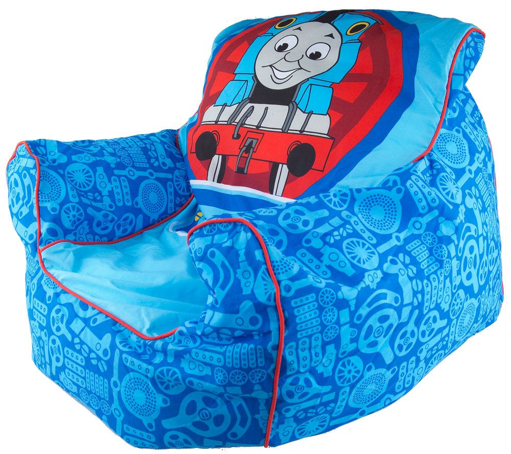 Thomas The Tank Childrenu0027s Armchair Style Beanbag Chair U2014 QVC.com