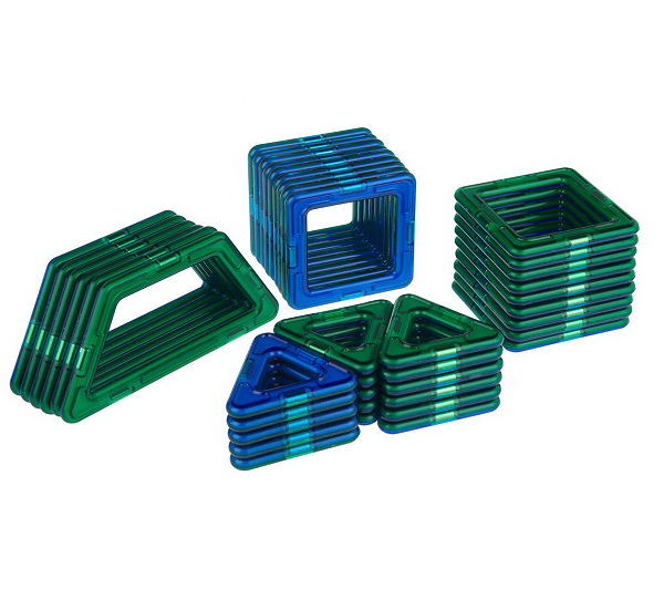 Magformers 40 Piece 3 D Magnetic Building Set W Instructions Page