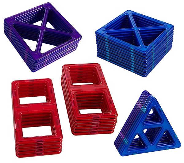 Magformers 36 Piece Jumbo Magnetic Building Set W Instructions
