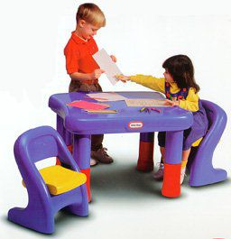 Little Tikes 7749 Adjustable Table u0026 Chairs Set. product thumbnail. Share this Product  sc 1 st  QVC.com & Little Tikes 7749 Adjustable Table u0026 Chairs Set u2014 QVC.com