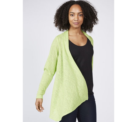 Kim & Co Soft Sweater Knit Edge To Edge Cardigan