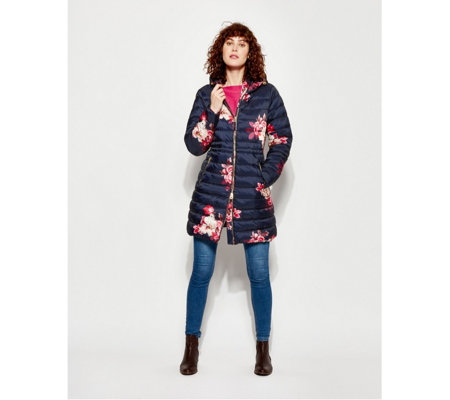 Joules Heathcote Printed Padded Coat