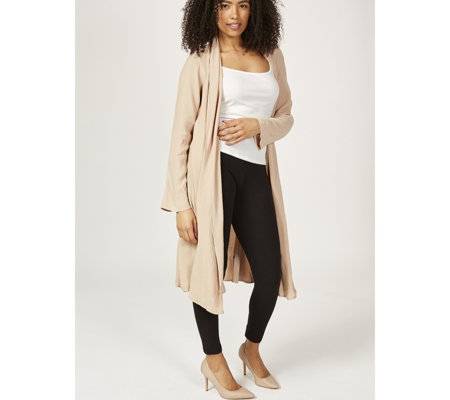 Ghost London Summer Crepe Edge to Edge Longline Alma Duster