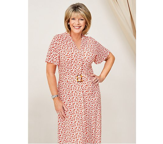 Ruth Langsford Belted Midi Dress Petite
